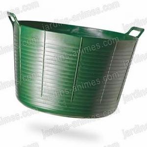 Baquet coloré Vert 75L