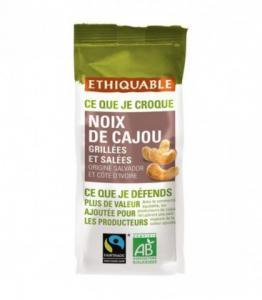 Noix de Cajou Grillées et Salées bio - équitable