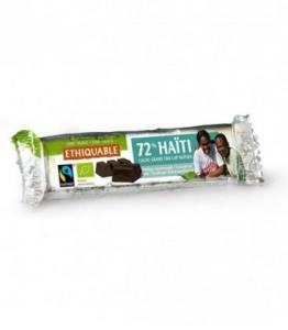 DESTOCKAGE - Barre de Chocolat Grand Cru 72% bio - équitable