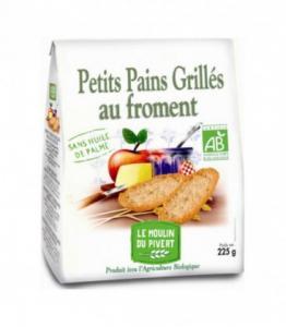 Petits Pains Grillés Froment bio - vegan