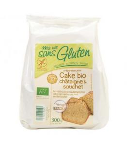 Préparation pour cake bio châtaigne - souchet bio - sans gluten