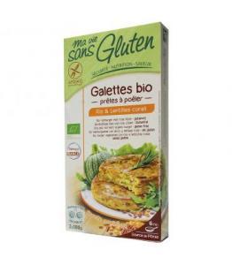 Galettes riz - lentilles corail bio - sans gluten
