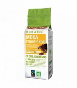 Café Moka Ethiopie Kivu MOULU bio - équitable
