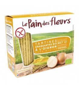 Tartines craquantes à l'oignon sans gluten bio