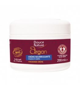 Crème nourrissante visage et corps à l'huile d'argan bio et équitable