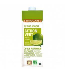 Nectar de Citron Vert bio - équitable