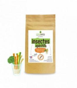 DESTOCKAGE - Insectes Apéritifs aux 3 légumes - DERNIERS STOCKS