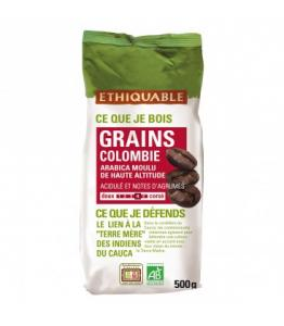 Café Colombie GRAINS bio - équitable - 500 g