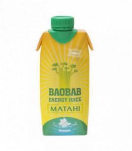DESTOCKAGE - Boisson énergisante à la pulpe de fruit de Baobab et à la Guarana bio