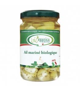 Ail bio mariné à l'huile