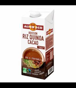 Boisson végétale au riz quinoa cacao bio - équitable