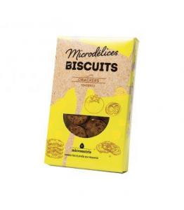 DESTOCKAGE - Biscuits crackers figue thym aux insectes bio et sans gluten - DERNIERS STOCKS