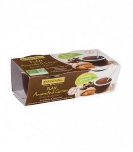 DESTOCKAGE - Flan Amande - Cacao bio - sans gluten