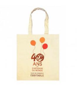 Sac -Tote Bag- 40 ans Artisans du Monde