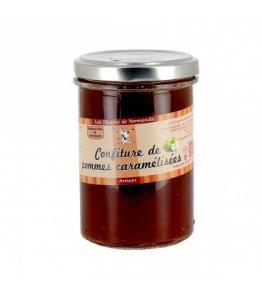 Confiture de pommes caramélisées de Normandie
