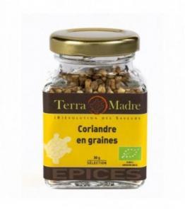 DESTOCKAGE - Coriandre en grains bio (petit pot)
