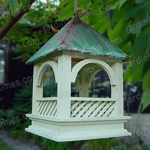 Mangeoire à oiseaux Bempton - toit en cuivre