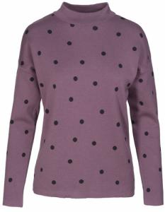 Riley Dots Plum