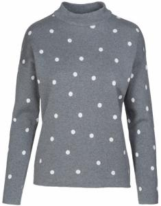 Riley Dots Grey Melange