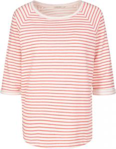 Elisa Stripes Off White-Coral Red