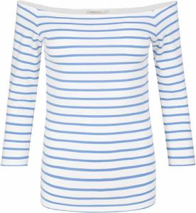Madita Stripes Off White Azure Blue