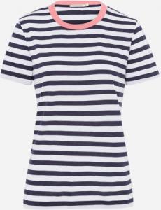 Lida Bold StripesWhite Navy