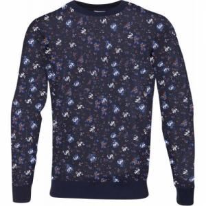 Flower Printed Sweat Peacot