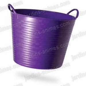Baquet coloré Violet 26L