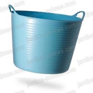 Baquet coloré bleu ciel 26L