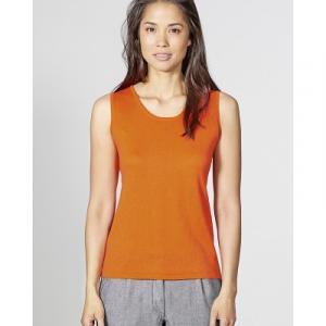 tee-shirt sans manches coton bio et chanvre