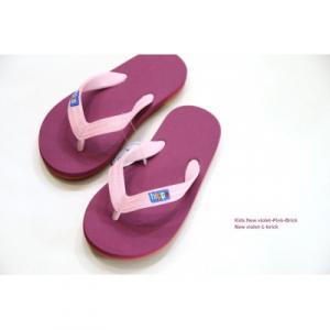 Tongs violettes pour enfants