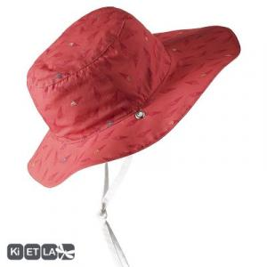 Chapeau rouge orangé Ice cream anti-UV