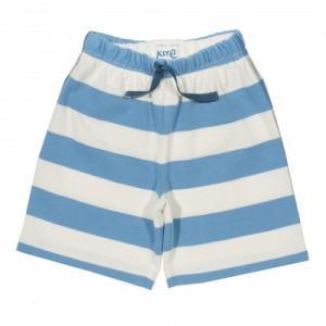Short enfant coton bio rayures bleues