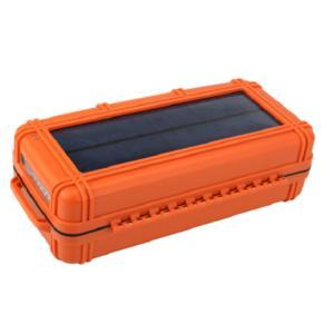 ROKPAK chargeur solaire Orange Safety