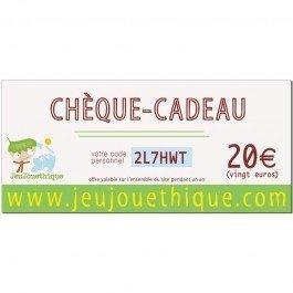 Chèque Cadeau - 20 €