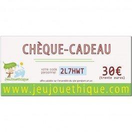 Chèque Cadeau - 30 €
