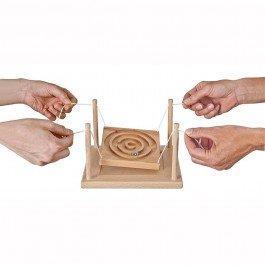 Labyrinthe en bois 2-4 joueurs
