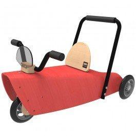Porteur en bois rouge Chou Du Volant