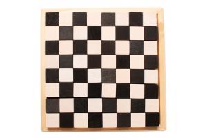 Cubes de construction Monochrome Echiquier Petit modèle