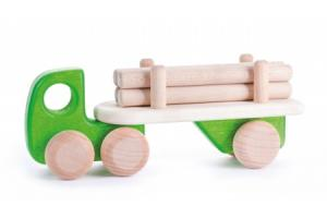 Camion remorque transporteur de bois