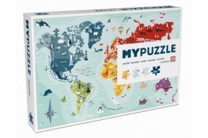 Puzzle Carte du monde 260 pcs
