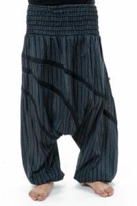 Sarouel large elastique grande taille homme Stripes