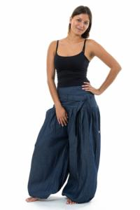Pantalon sarouel urban ethnic jean femme Jazminh