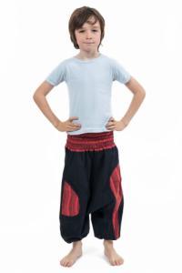 Sarwel elastique enfant noir rouge Pataya