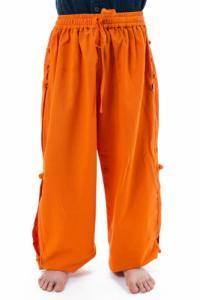Pantalon japonais enfant modulable orange