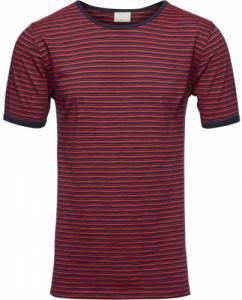 T-Shirt Slub Yarn Dyed Peacoat