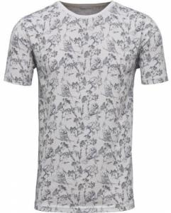 Allover Bird Print Bright White
