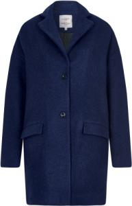 Mara Coat Marl Blue