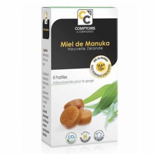 Pastilles Miel de Manuka et Eucalyptus - Boîte de 8 pastilles