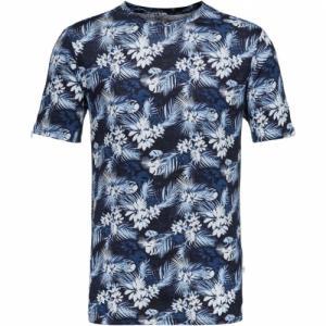 Linen T-shirt All Over Print Total Eclipse